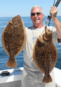 Fish Trap specializes in taking clients to catch giant Rhode Island fluke near Westerly and Block Island.