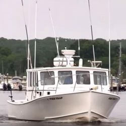 Fish Trap is the perfect boat for catching bluefish and stripers out of Westerly RI.